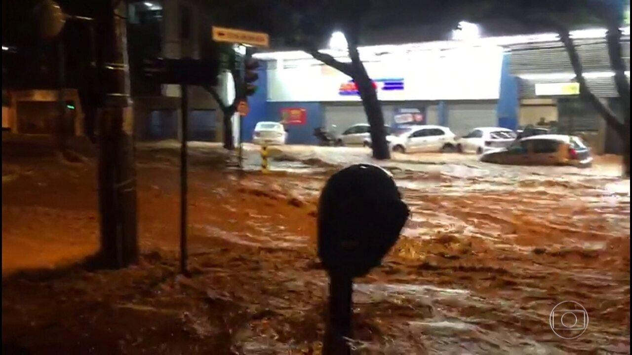 Chuvas em Minas Gerais provocam 53 mortes