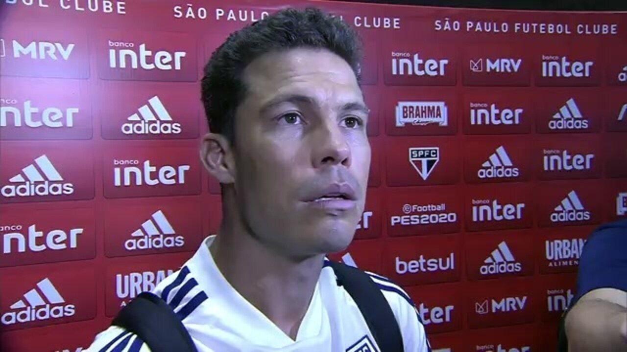 """Hernanes diz que São Paulo está em um """"caminho legal"""" na temporada"""