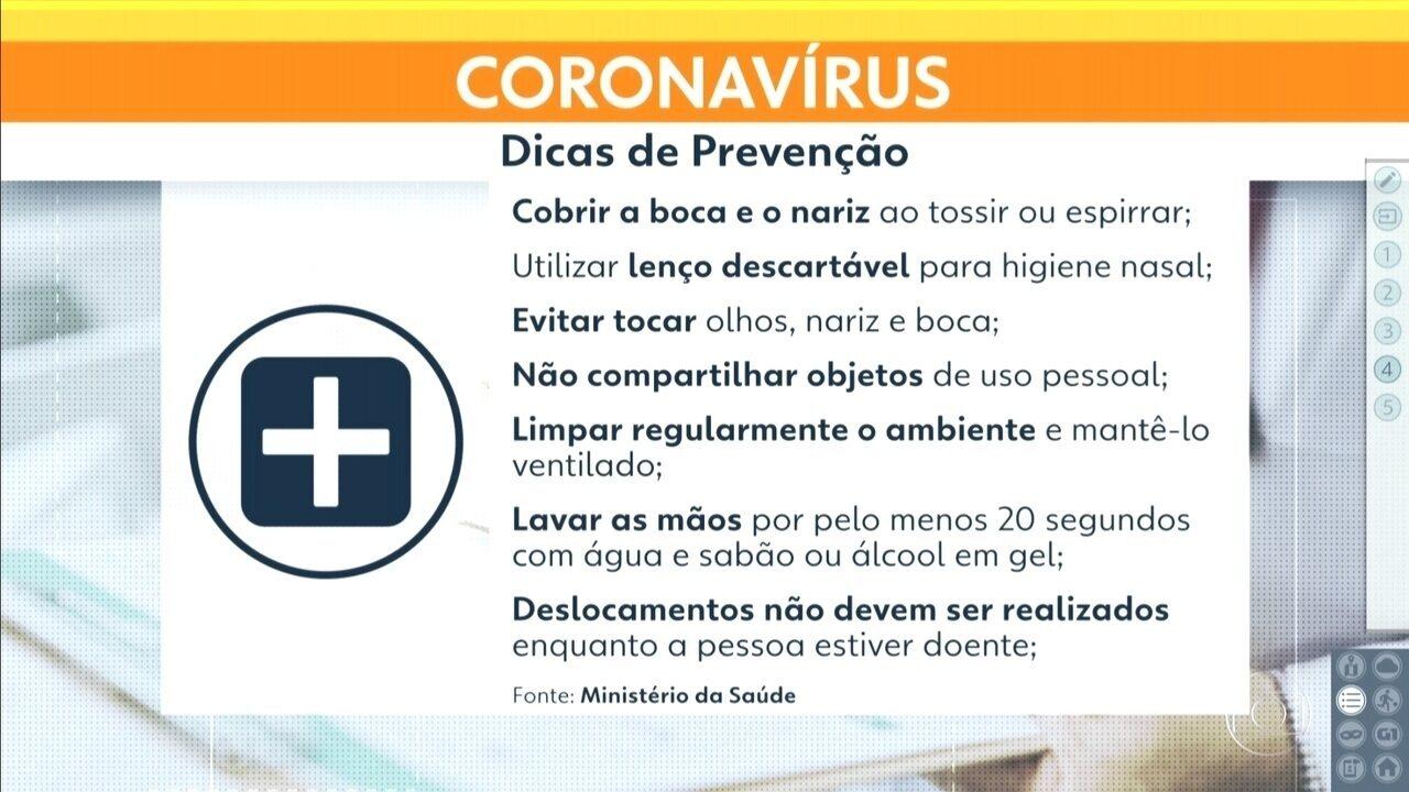 Ministério da Saúde monitora três casos suspeitos de coronavírus em São Paulo