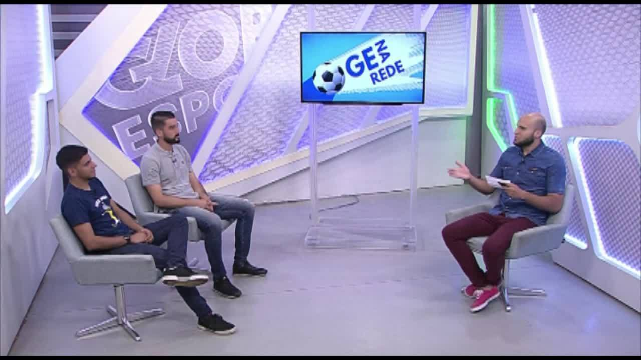Gabriel Leite participa do GE na Rede e avalia o início de temporada no Paysandu