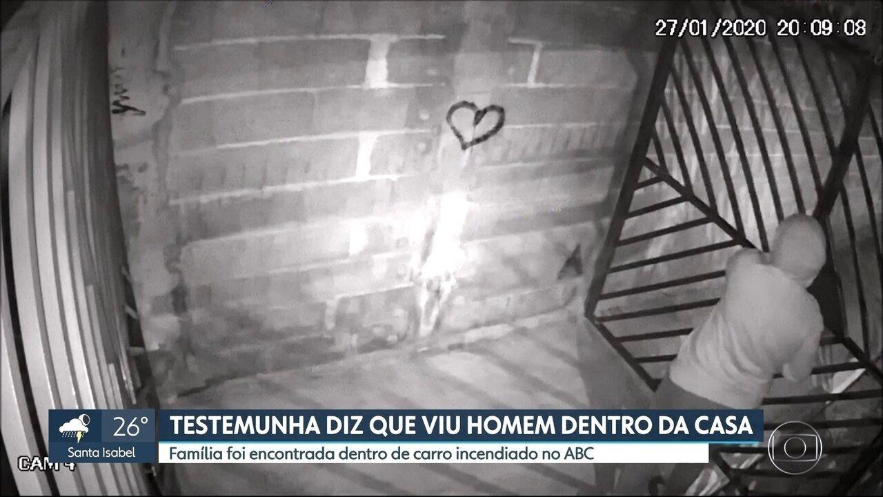 Testemunha diz que viu homem dentro de casa onde morava família que morreu no ABC