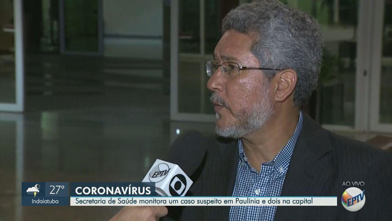 Governo estadual monitora caso suspeito de coronavírus em Paulínia