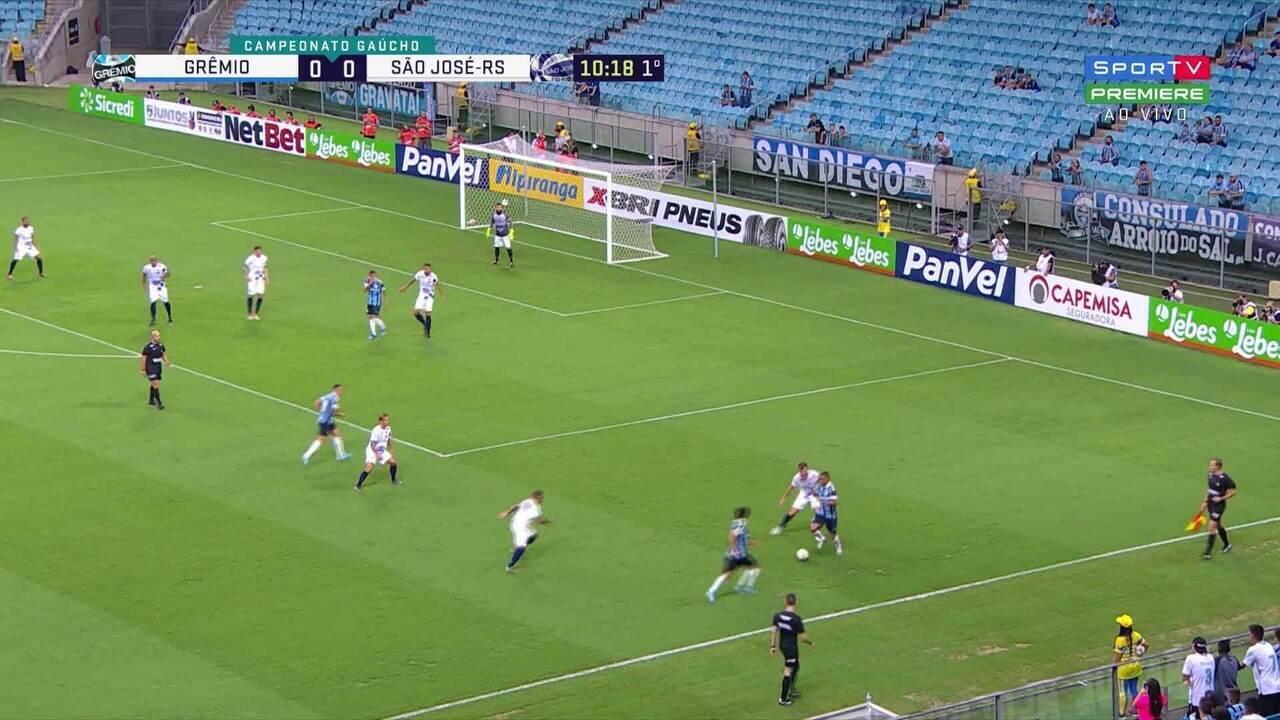Melhores momentos de Grêmio 2x1 São José, pela 3ª rodada do Campeonato Gaúcho
