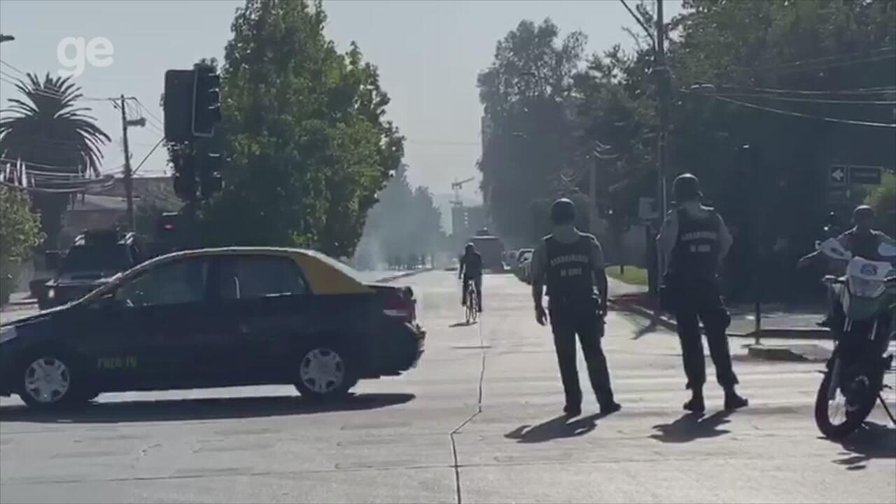 Boletim colorado: confira as informações da La U em um sábado (1) de conflito no Chile