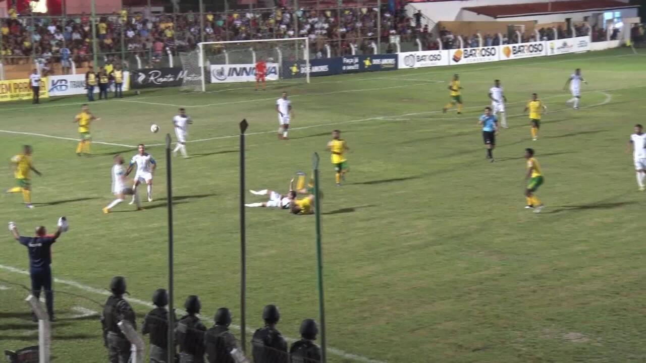 Os lances de Picos 0 x 0 Altos - 4ª rodada do Campeonato Piauiense 2020