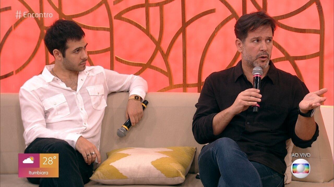 Pai e filho na vida real, Murilo e Antônio Benício emocionaram o público em 'Amor de Mãe'