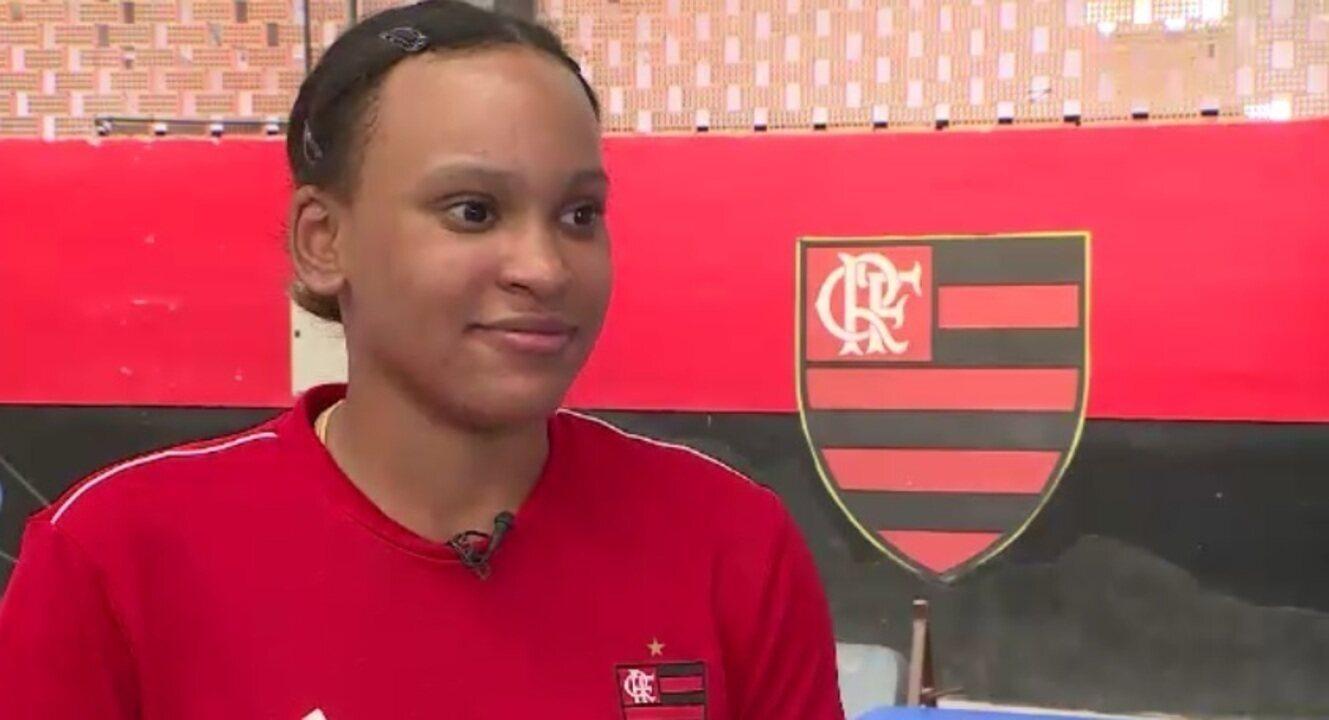 Rebeca Andrade fala da recuperação de 3ª cirurgia e busca por vaga em Tóquio 2020