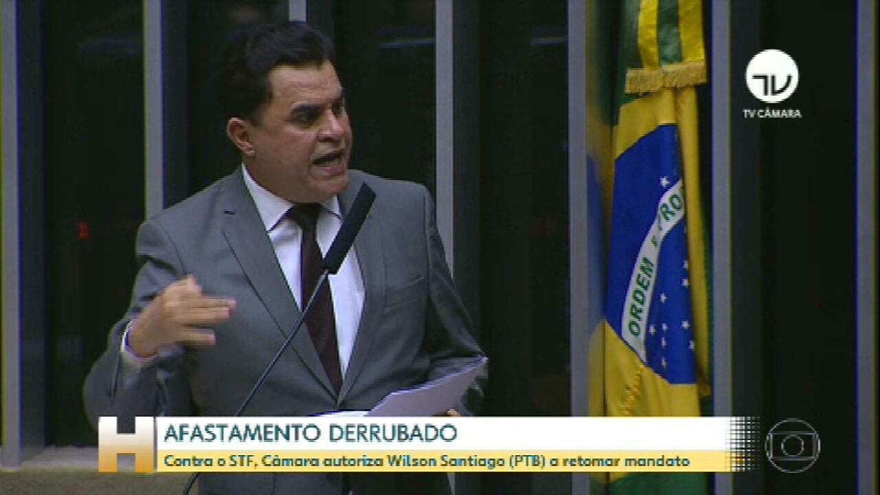 Câmara reverte decisão do STF e derruba afastamento do deputado José Wilson Santiago