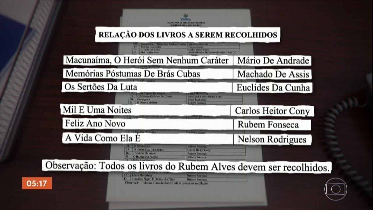 MPF investiga o recolhimento de obras de bibliotecas estaduais em RO