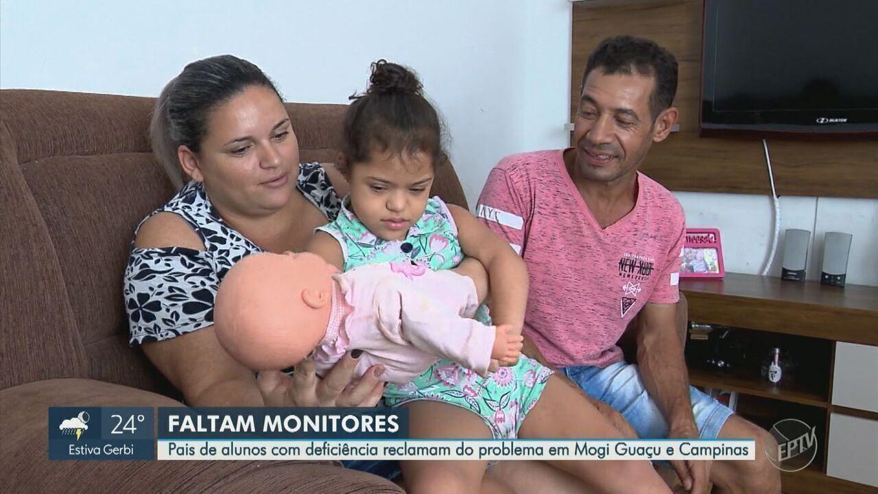 Pais de alunos com deficiência reclamam da falta de monitores em Campinas e Mogi Guaçu