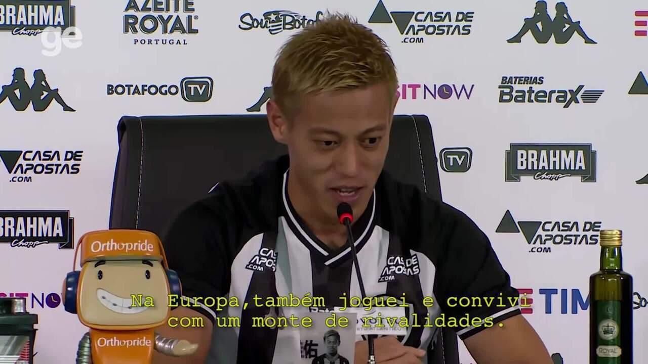 Honda comenda da rivalidade entre Botafogo e Flamengo