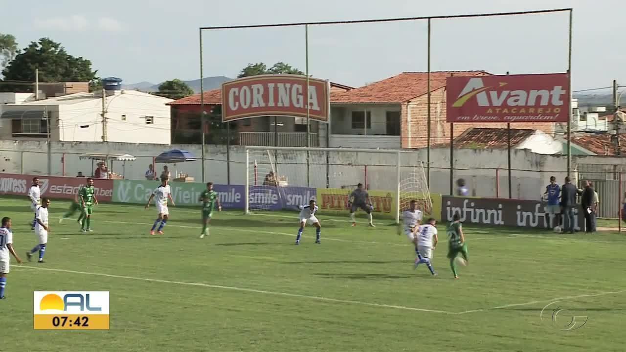 Jaciobá abre 2 a 0 sobre o Murici, mas deixa a vitória escapar nos minutos finais