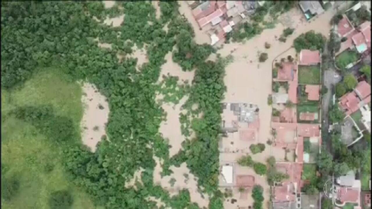 Interior de SP e Baixada Santista também são castigados pela chuva