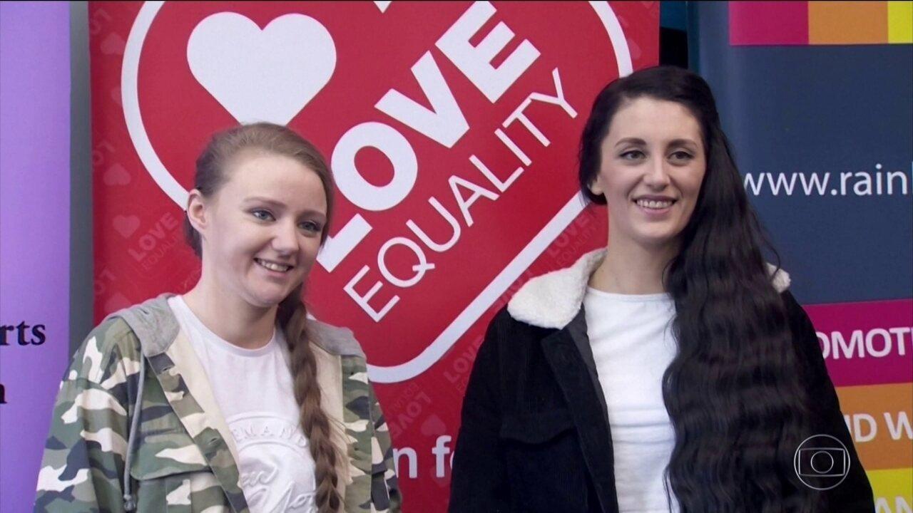 Irlanda do Norte celebra primeiro casamento homoafetivo legalizado