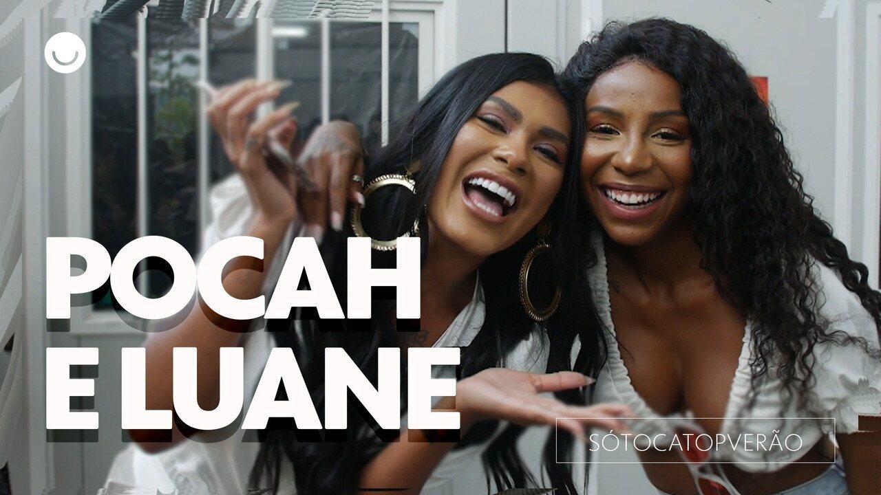 Luane Dias e Pocah contam história engraçada que viveram juntas na praia