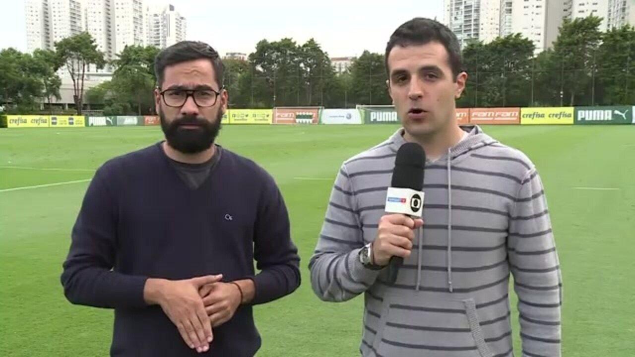 Boletim do Palmeiras: repórteres comentam treino e chegada de Matías Viña