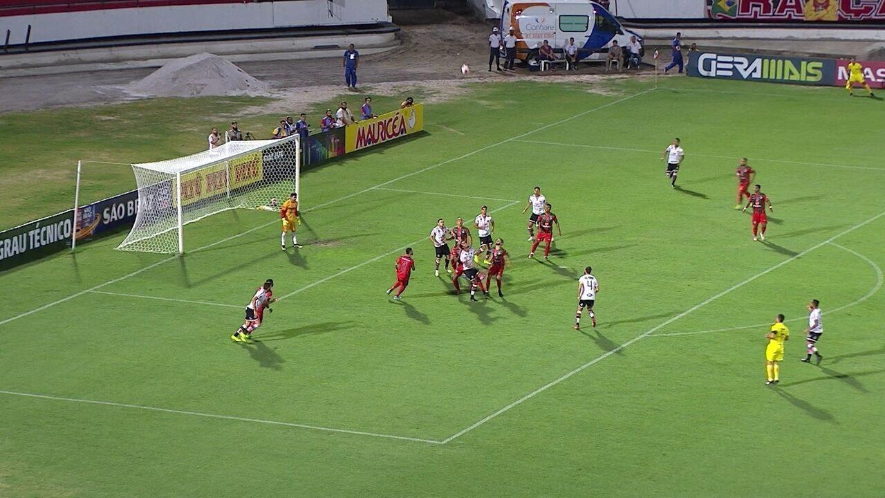 Melhores momentos de Santa Cruz 2 x 1 Salgueiro, pela 5ª rodada do Pernambucano
