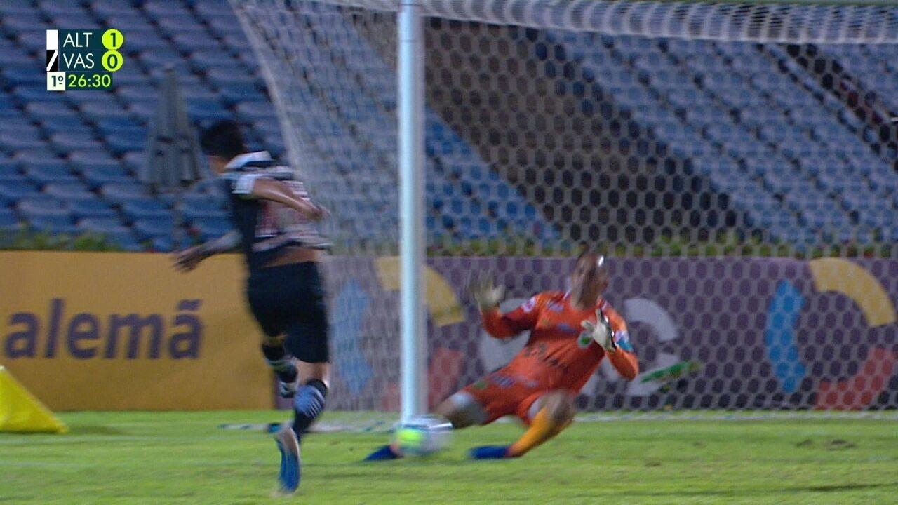 Melhores momentos: Altos-PI 1 x 1 Vasco pela Copa do Brasil 2020