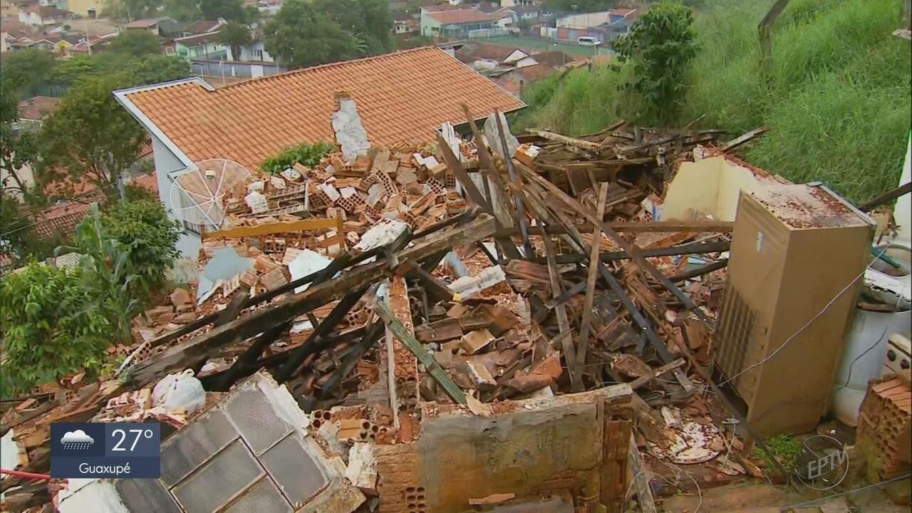 Moradores ainda contabilizam estragos da chuva e contam com rede de solidariedade