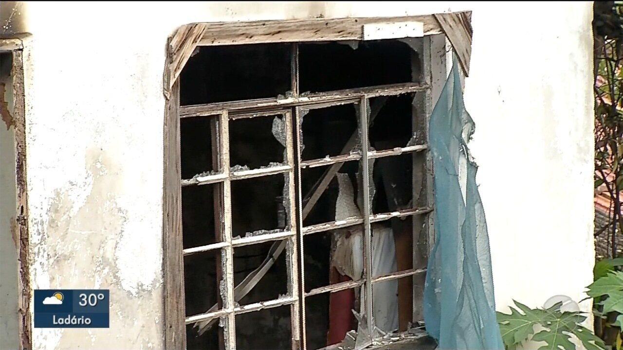 Idosa morre durante incêndio no bairro Cervejaria