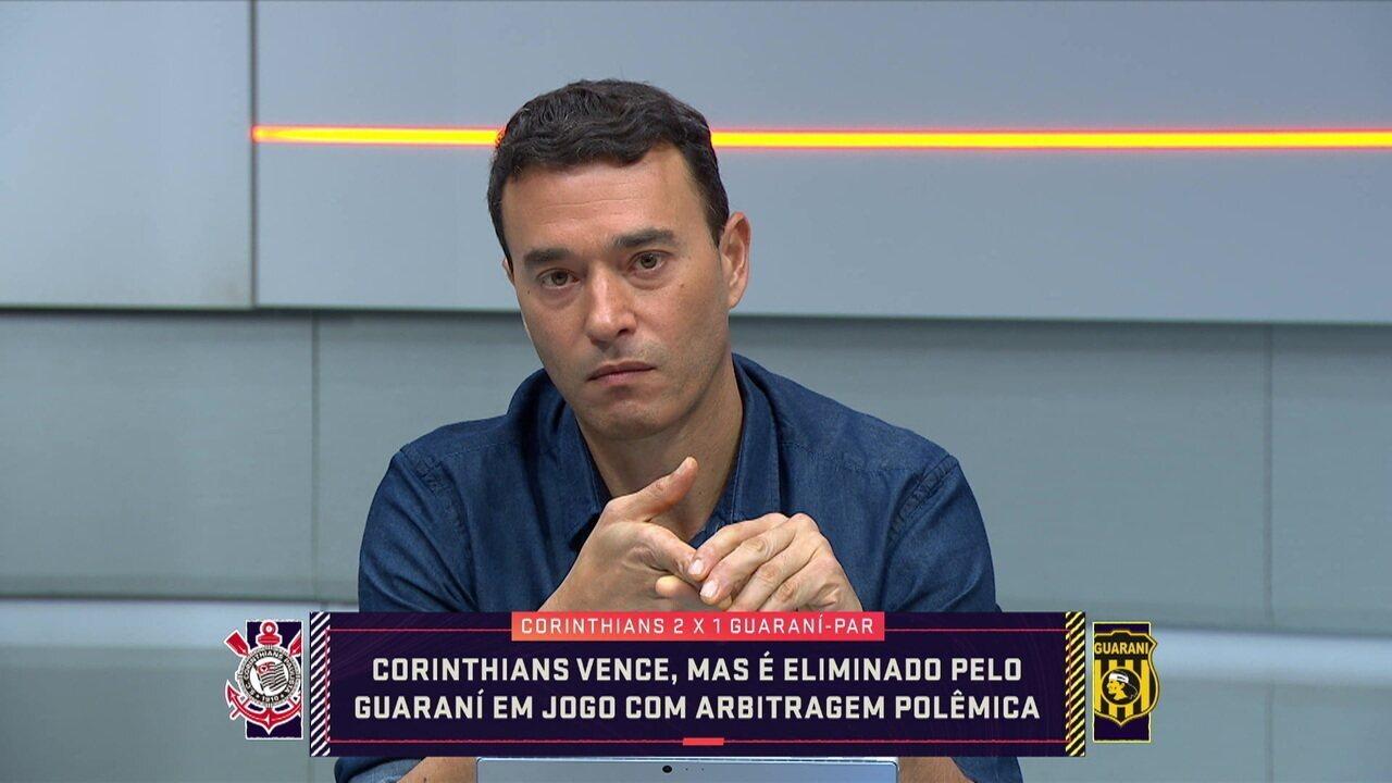 Rizek fala sobre a atuação do árbitro Nestor Pitana na partida do Corinthians contra o Guarani