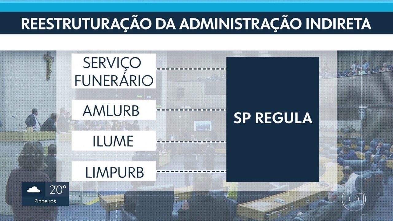 Reforma administrativa tramita da Câmara Municipal