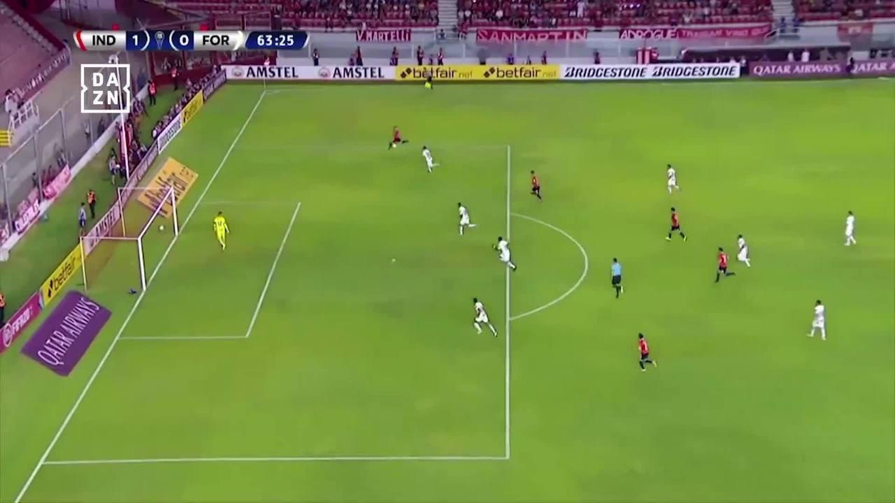 Melhores momentos de Independiente 1 x 0 Fortaleza pela Copa Sul-Americana