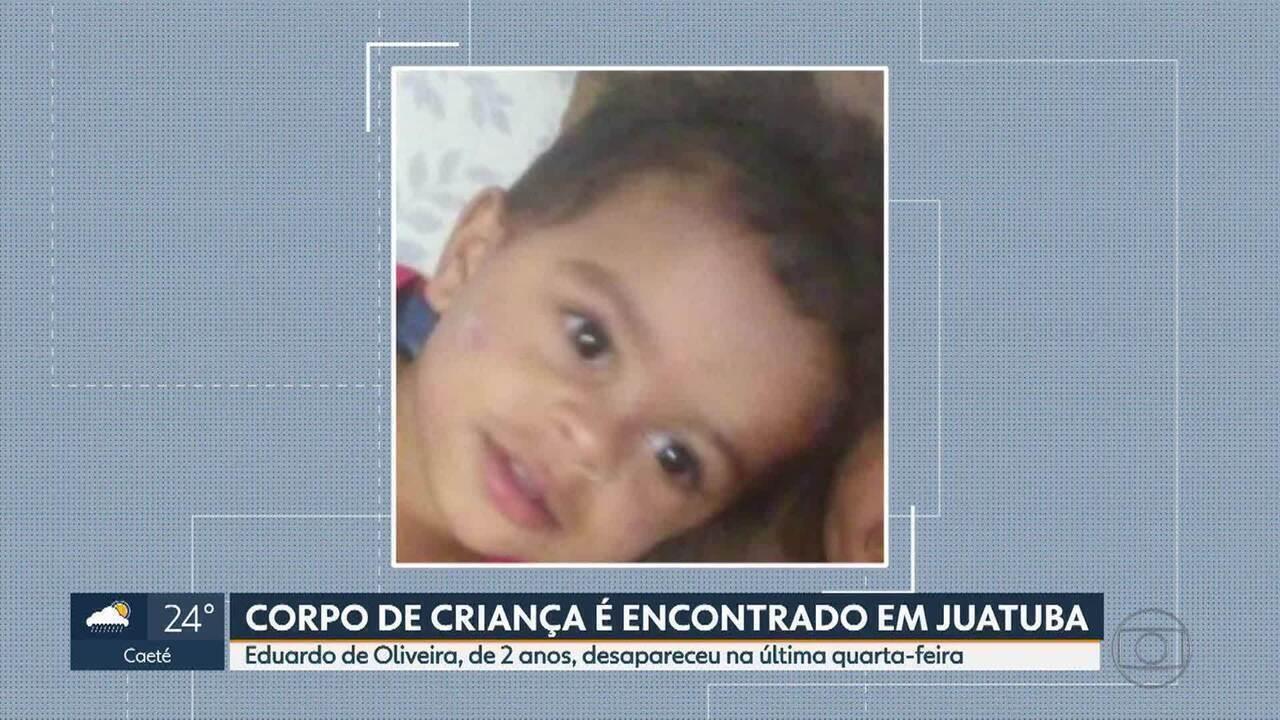 Corpo de criança desaparecida há 2 dias em Juatuba é encontrado em lagoa