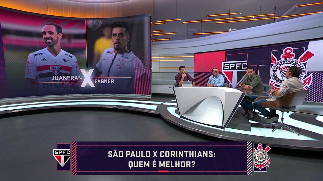 Quem é melhor? Comentaristas comparam jogadores de São Paulo e Corinthians