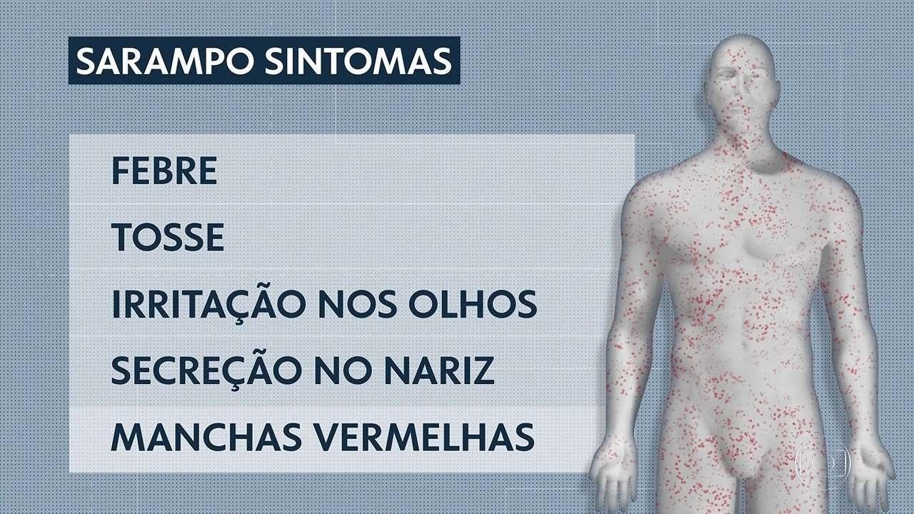 SP faz campanha contra o sarampo