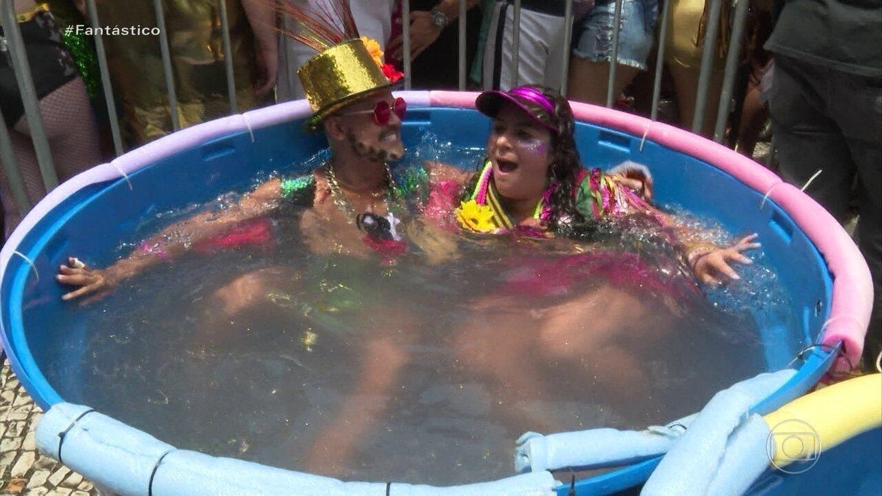 Foliões aproveitam pré-carnaval pelo país