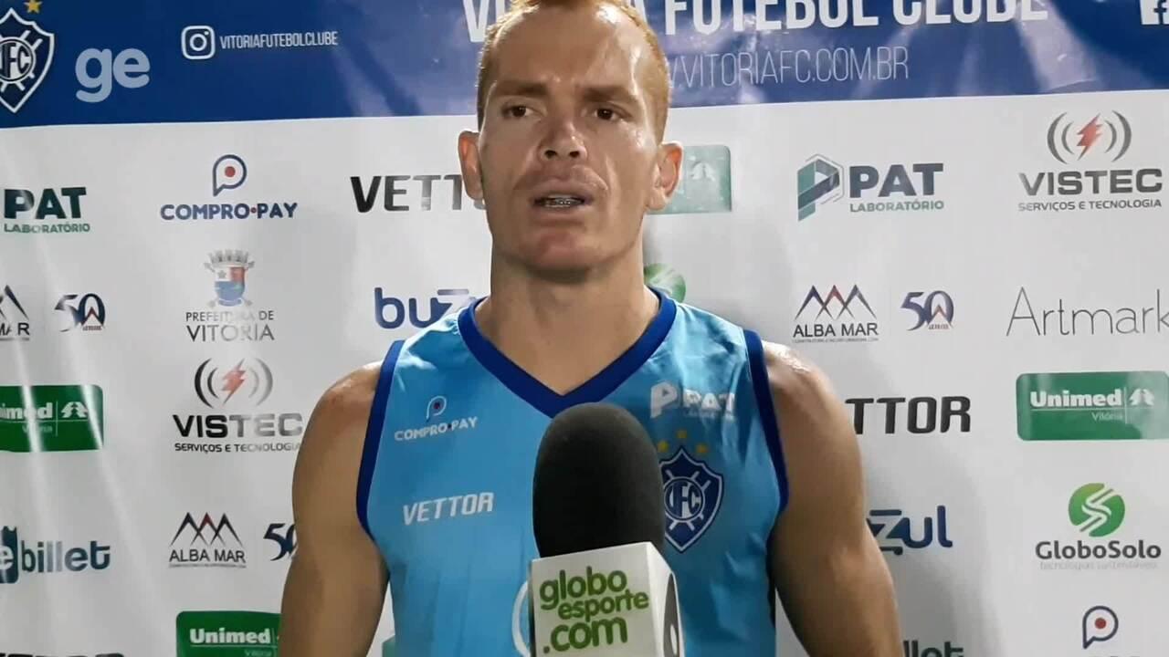 Galego revela que estava ansioso antes de fazer o primeiro gol com a camisa do Vitória