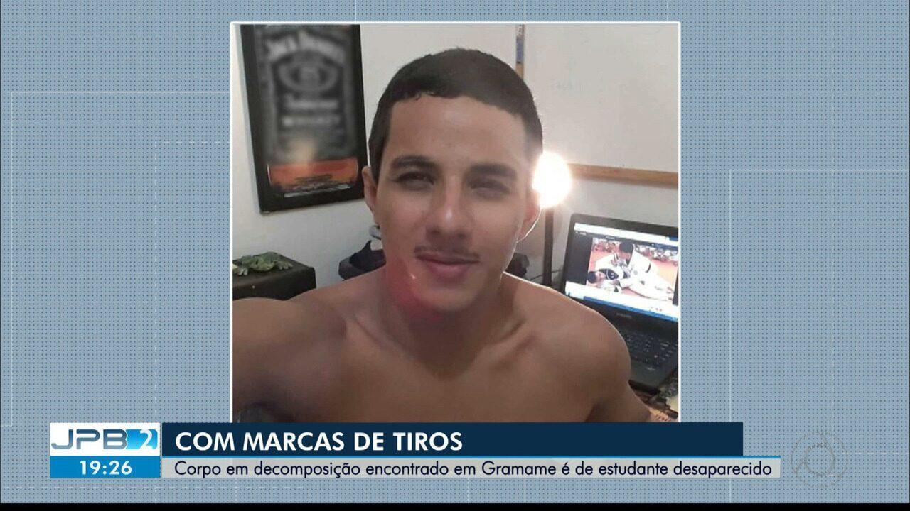 Corpo em decomposição encontrado em Gramame é de estudante desaparecido