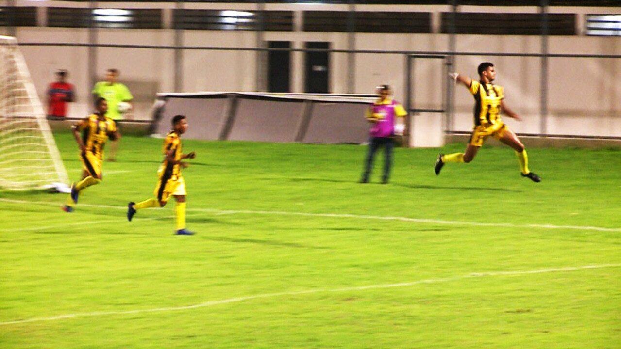 Os gols de Timon-PI 3 x 1 Piauí pela sexta rodada do Campeonato Piauiense