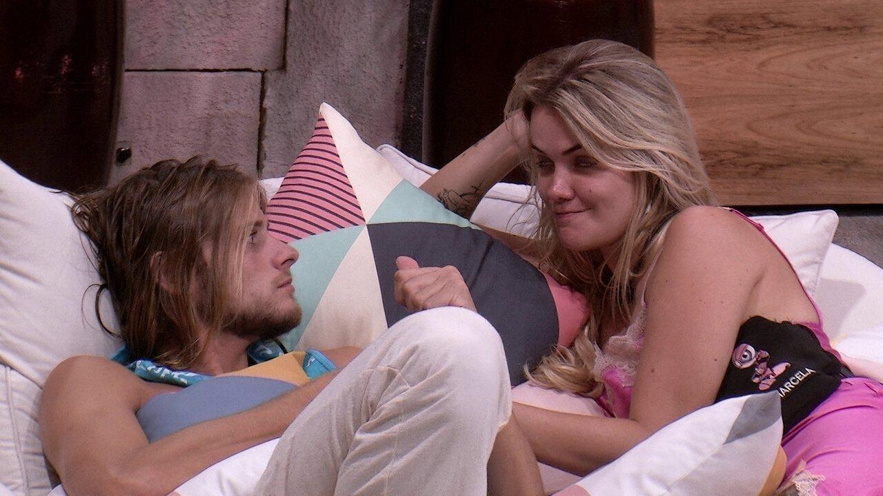 Marcela incentiva Daniel após Jogo da Discórdia: 'Você é muito inteligente'