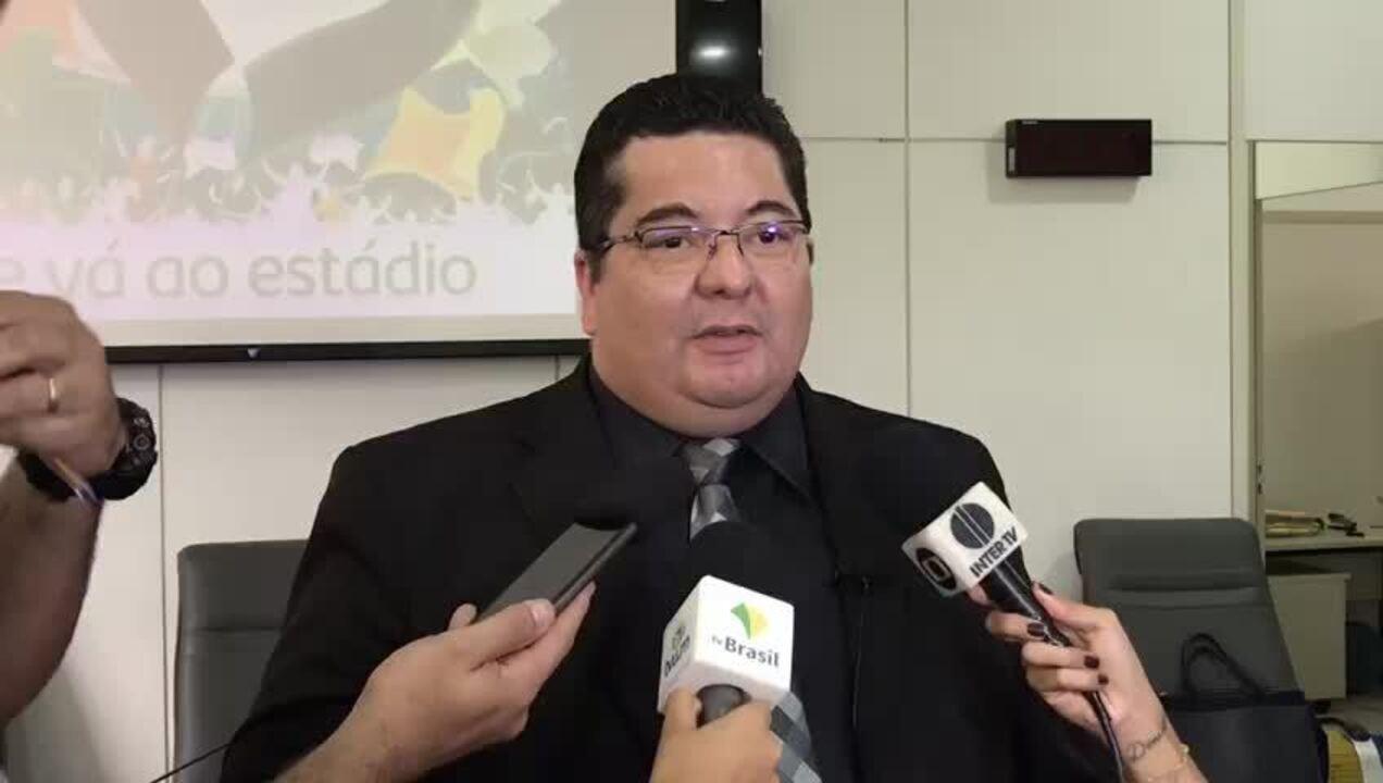 Procurador geral de Justiça do RN fala sobre combate a violência nos estádios de futebol (Vídeo: DCOM/MPRN)