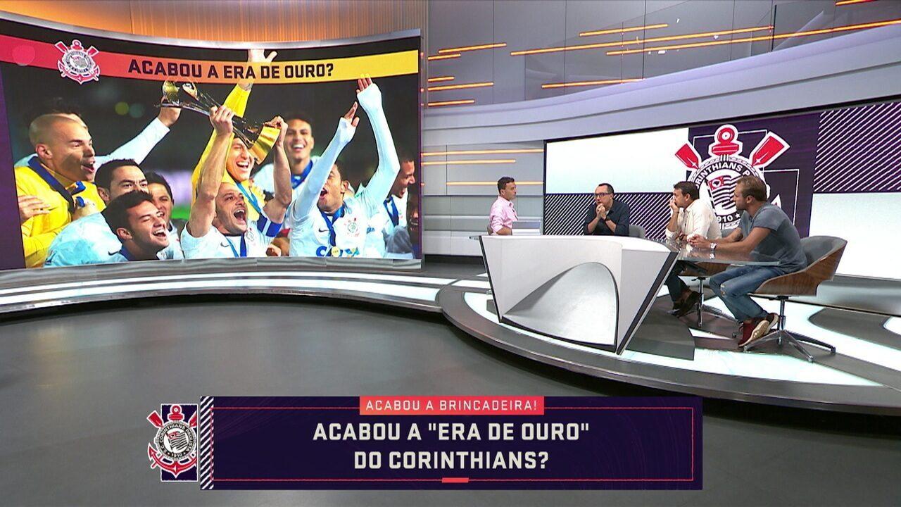 """""""Era de Ouro"""" do Corinthians acabou? Comentaristas analisam situação do Timão"""