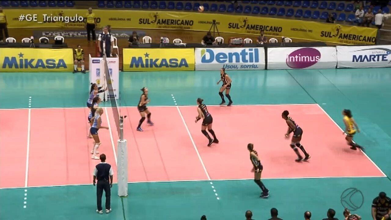 Praia Clube estreia com vitória no Sul-americano feminino
