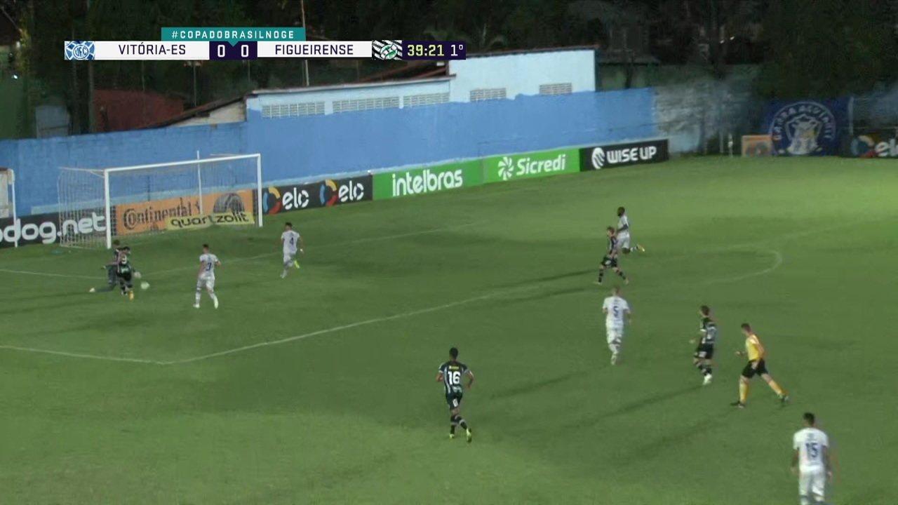 Melhores momentos de Vitória-ES 0 x 1 Figueirense pela segunda fase da Copa do Brasil