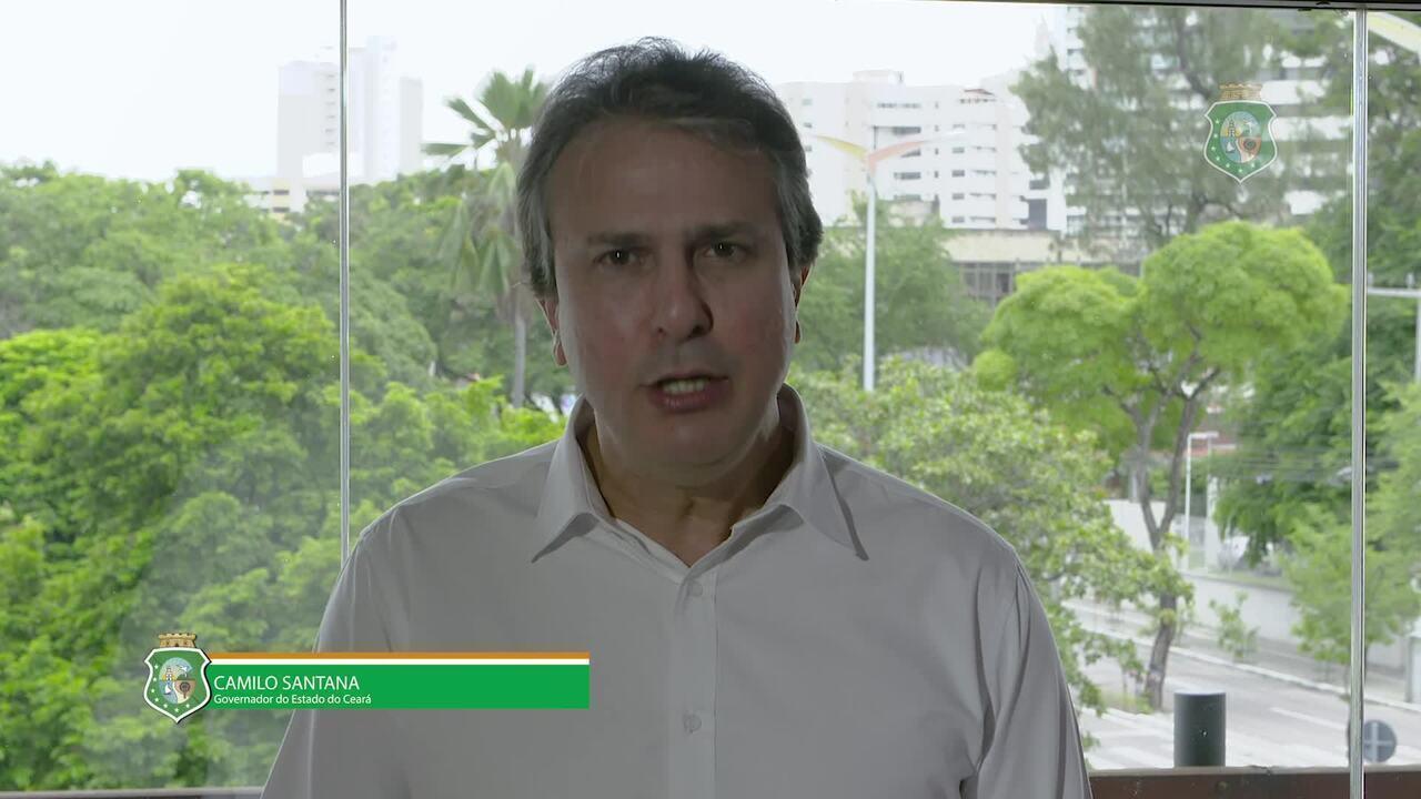 Camilo Santana se pronuncia sobre atos de parte dos policiais no Ceará