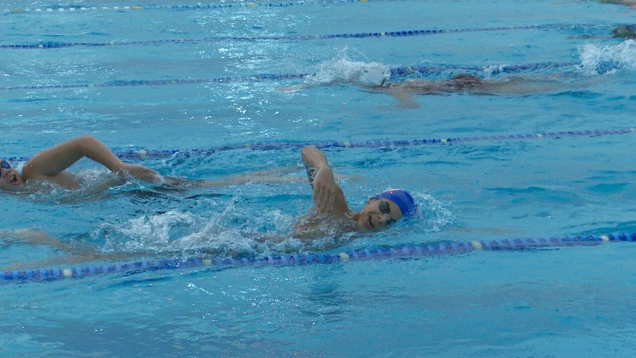 Roraimense busca mais espaço no cenário da natação nacional