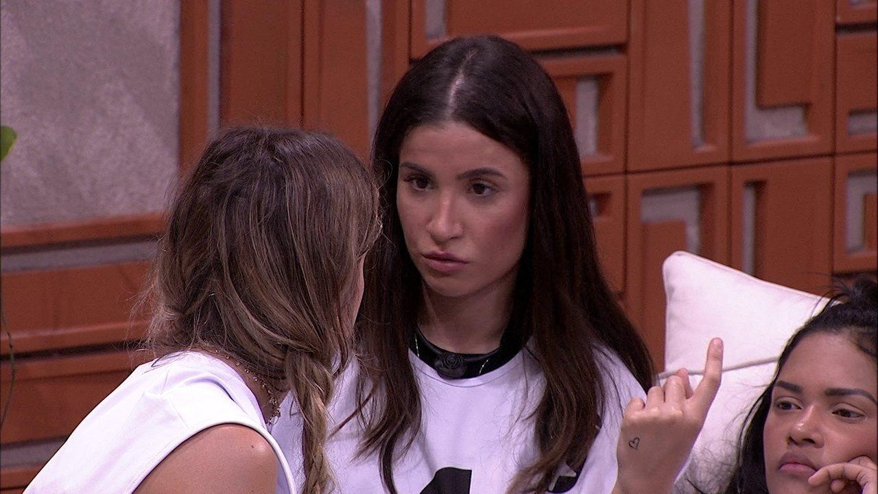 Bianca dispara sobre Rafa: 'A pessoa se exclui e se faz de coitada'