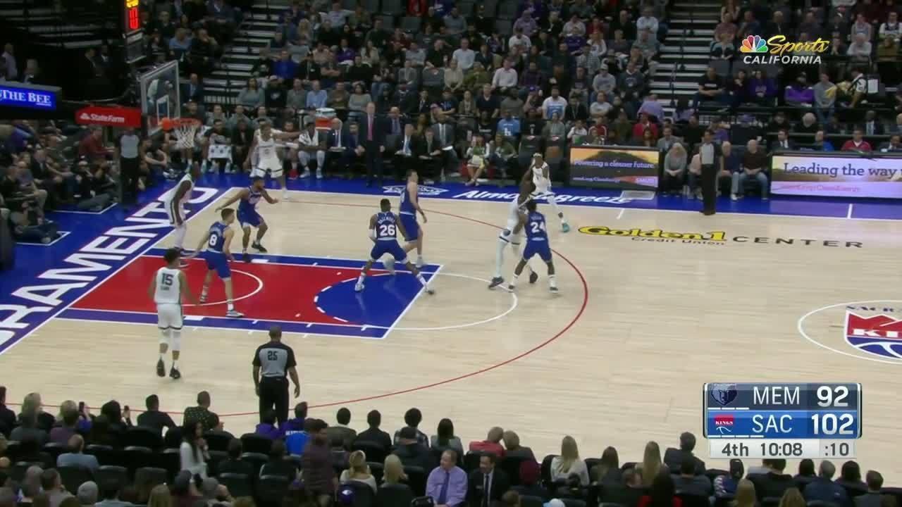 Melhores momentos de Sacramento Kings 129 x 125 Memphis Grizzlies pela NBA