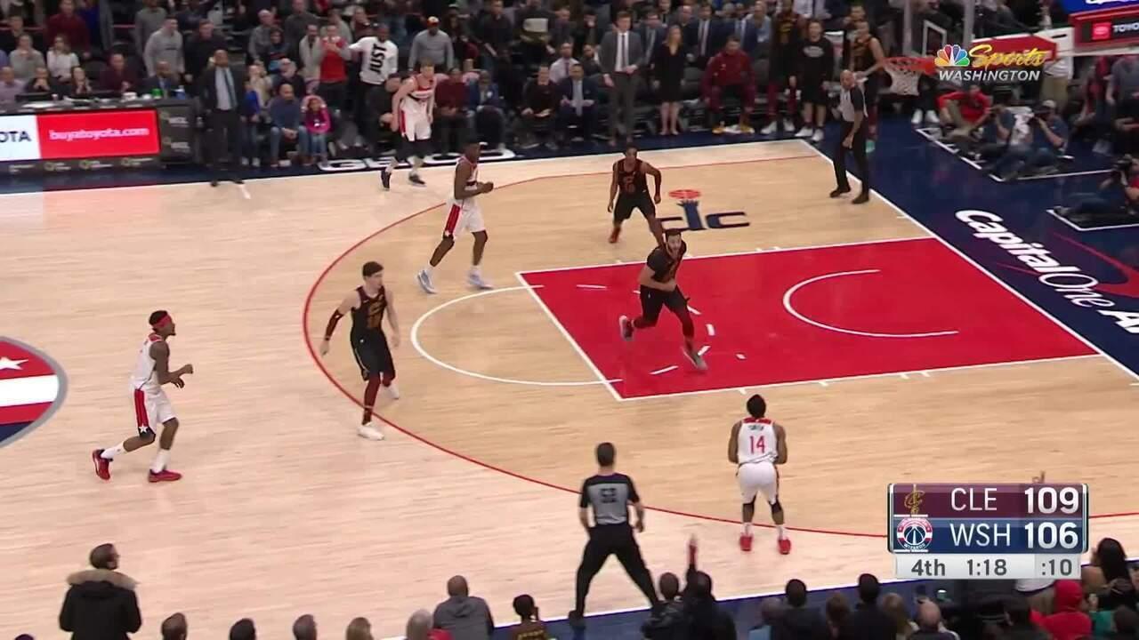 Melhores momentos: Washington Wizards 108 x 113 Cleveland Cavaliers pela NBA