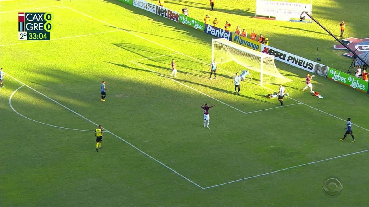 Confira os melhores momentos entre Caxias 1x0 Grêmio
