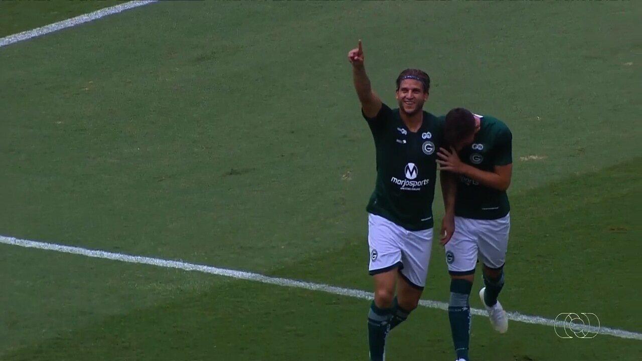 Os gols de Goiás 4 x 1 Anapolina - 7ª rodada do Campeonato Goiano