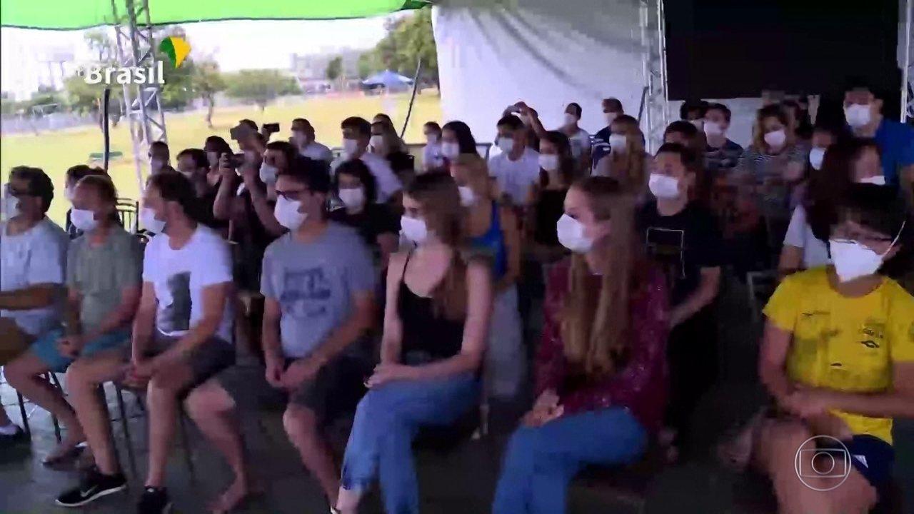 Brasileiros em quarentena em Anápolis (GO) serão liberados no domingo (23)