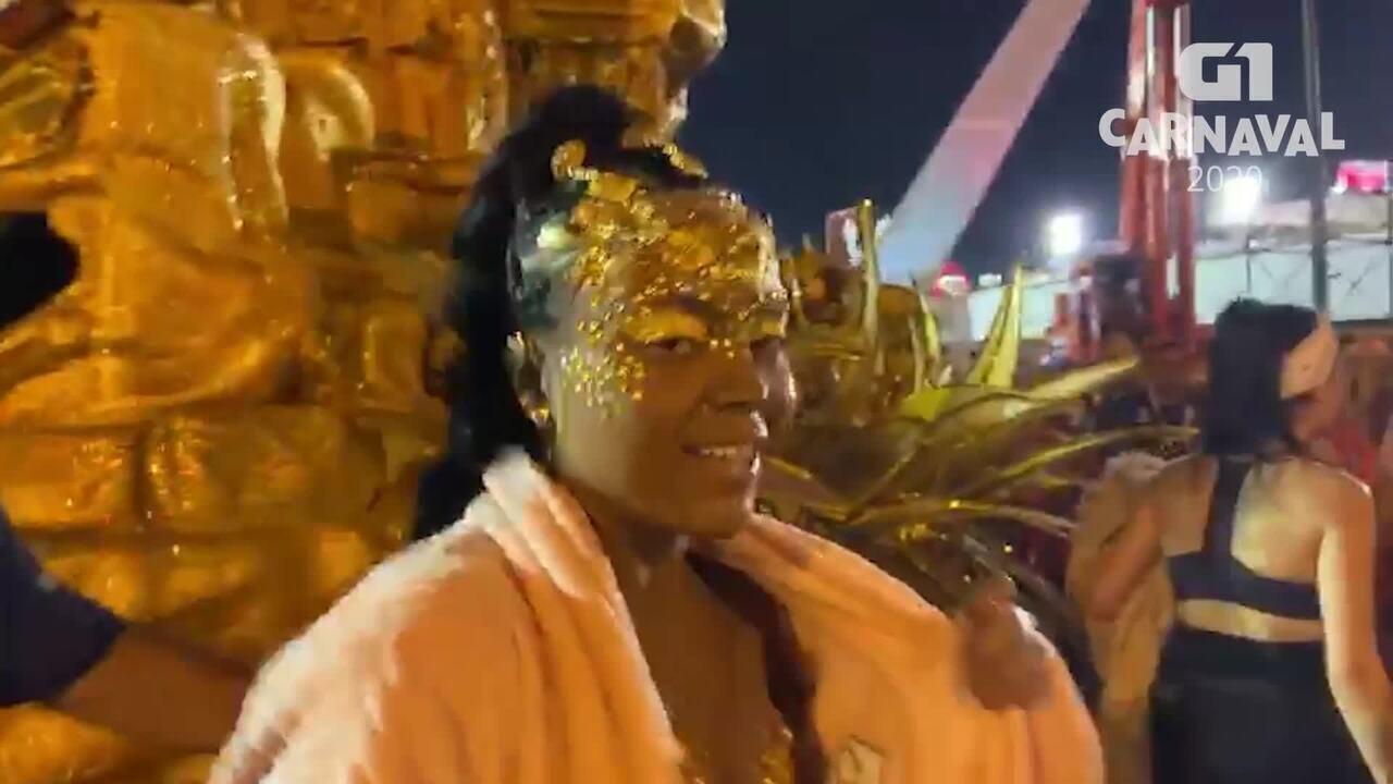 Anna Giu fala sobre desfile na Viradouro