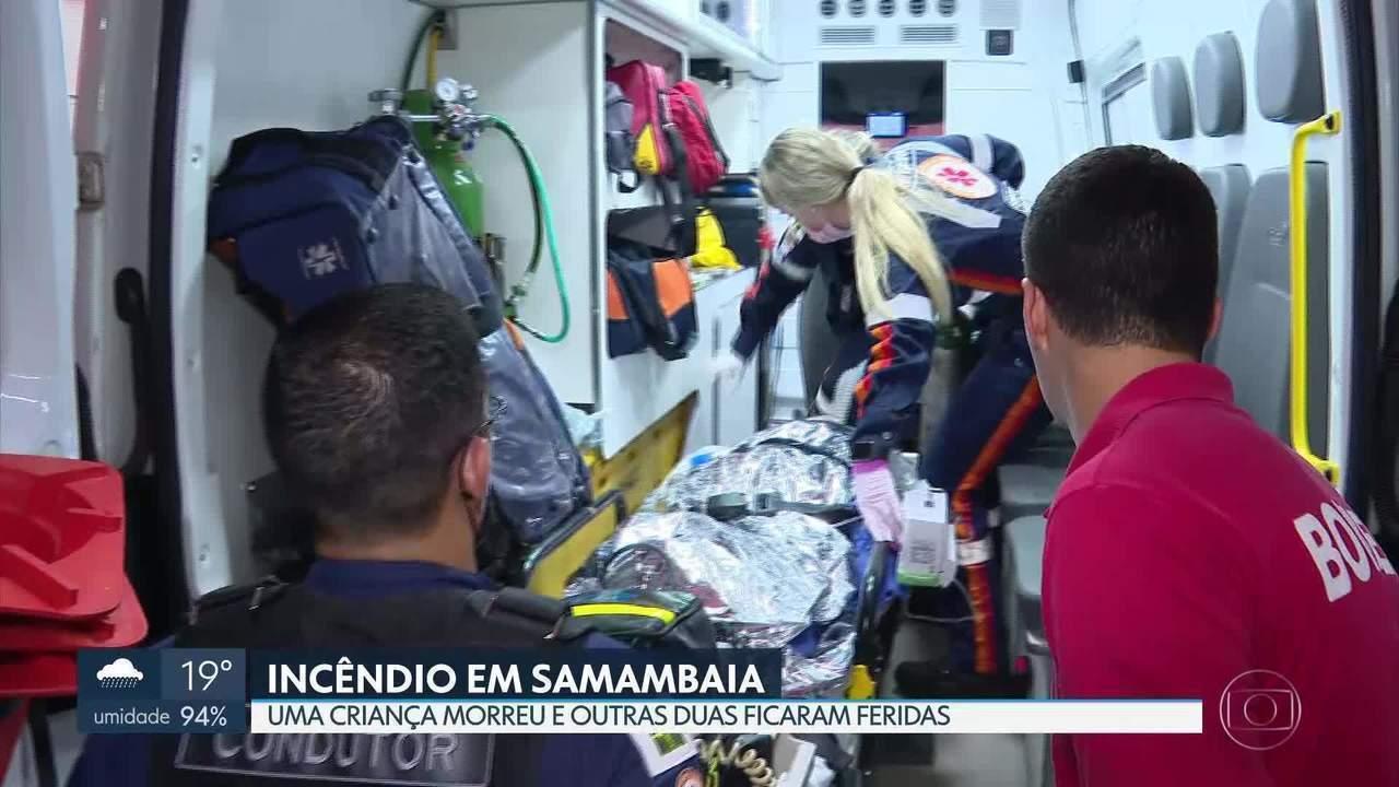 É grave o estado de saúde das vítimas de incêndio em Samambaia