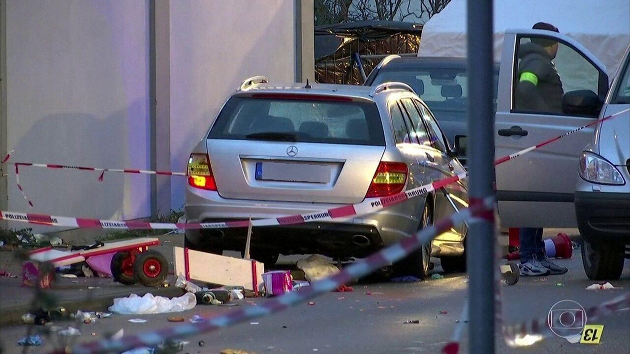 Atropelamento em desfile de carnaval na Alemanha deixa 52 feridos